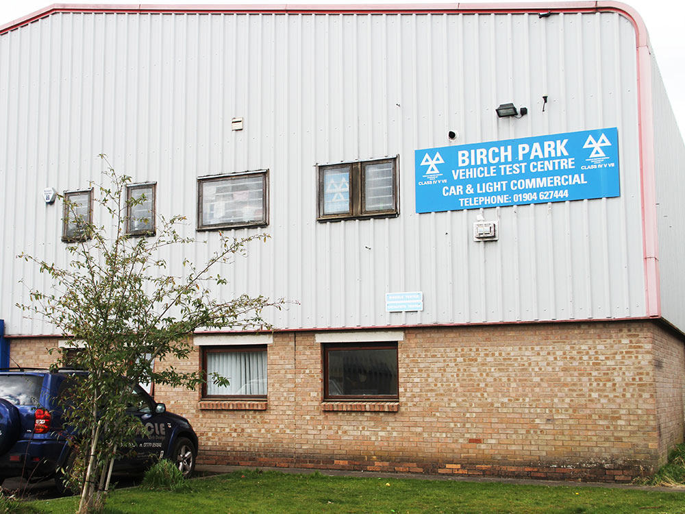 Birch Park Vehicle test centre